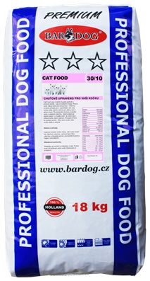 BARDOG CAT FOOD  18 kg
