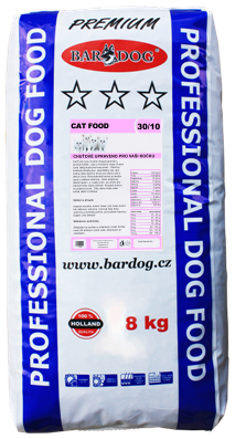 BARDOG CAT FOOD  8 kg